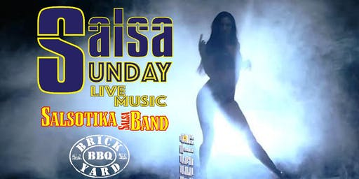 Salsa Sunday! Live Latin music by Salsotika, Dance Lessons, DJ and Party
