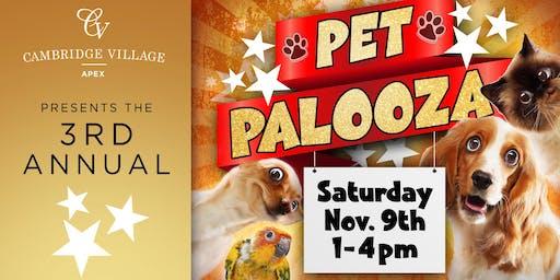 3rd Annual Pet Palooza