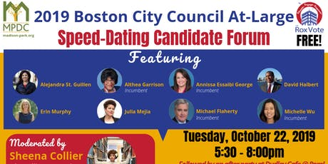 MPDC's Speed-Dating Candidate Forum tickets