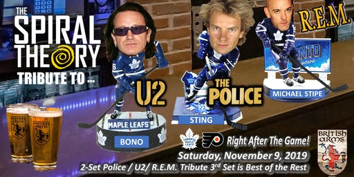 The Police /U2/ REM by The Spiral Theory at British Arms