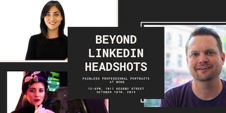 Beyond LinkedIn Headshots: Painless Professional Portraits at Node tickets