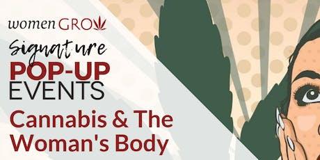 Women Grow South Jersey Pop-Up Event - Cannabis & The Woman's Body tickets