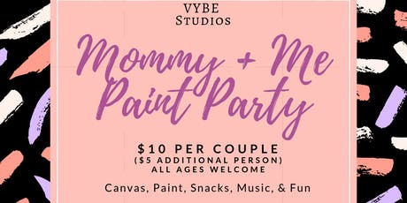 Mommy & Me Paint Party tickets