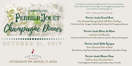 Perrier-Jouët Champagne Dinner at The Catch of the Pelican tickets
