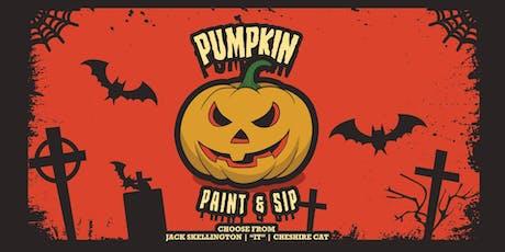 The Great Pumpkin Paint & Sip tickets