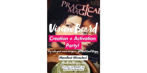 Practical Magic Vision Board Activation & Margarita's Workshop