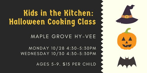 Kids in the Kitchen: Halloween Cooking Class