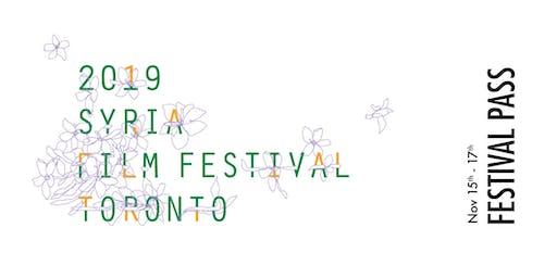 Toronto Syria Film Festival 2019 - FESTIVAL PASS