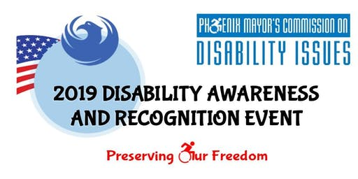 2019 Disability Awareness and Recognition Event