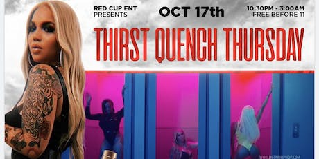 THIRST QUENCH THURSDAY HOSTED BY RENNI RUCCI tickets
