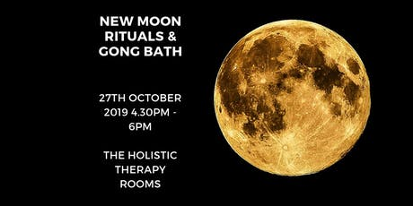 New Moon Rituals and Sound Bath tickets