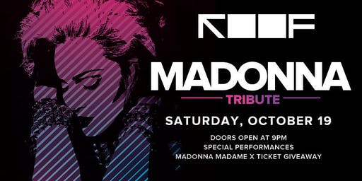 MADONNA TRIBUTE PARTY