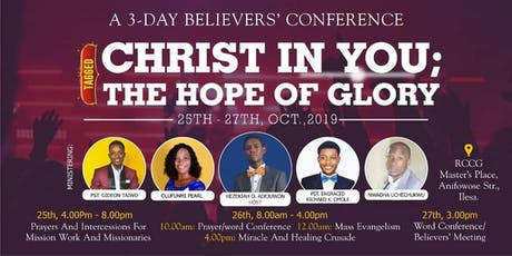 Believers' Conference  tickets