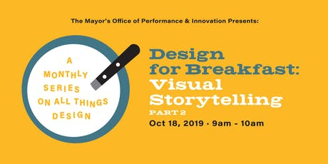 Design for Breakfast Skillshare: Visual Storytelling Part 2 tickets
