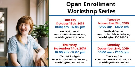 DC Health Link Open Enrollment Workshop Series