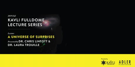 Kavli Lecture - A Universe of Surprises tickets