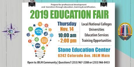 JBLM 2019 Education Fair tickets