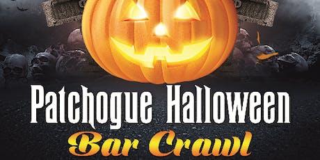 Patchogue Halloween Bar Crawl 10/26/2019 tickets