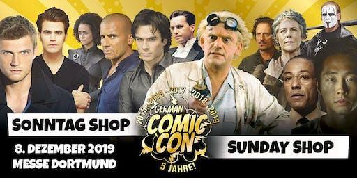 German Comic Con Dortmund 2019 - SONNTAG Shop