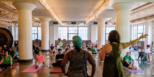 Yoga + Grown Up Recess at City Museum
