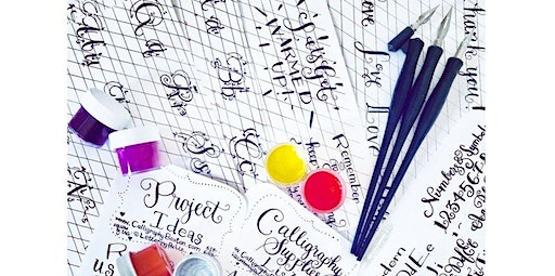 Portsmouth, NH: Modern Calligraphy Workshop for Beginners (02-18-2020 starts at 6:30 PM)
