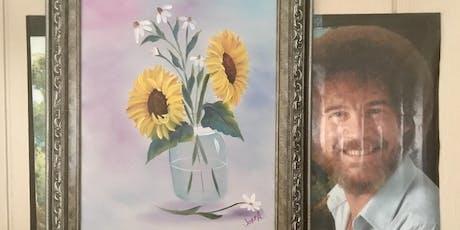 Bob Ross Floral Class: Sunflowers in a Jar tickets