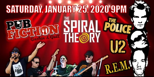 The Police /U2/ REM by The Spiral Theory at Pub Fiction