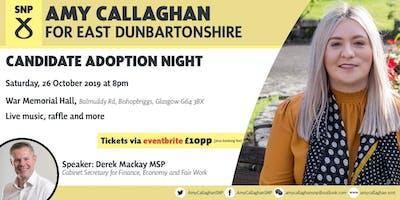 Amy Callaghan Adoption Night