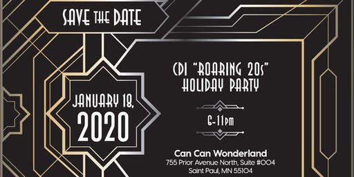 """CDI """"Roaring 20s""""  Holiday Party"""