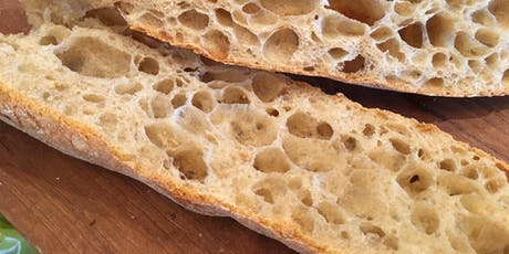 Baguettes & Ciabatta with Randy George billets