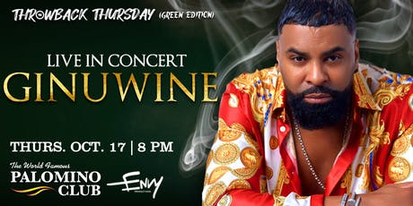 Ginuwine Live at The Palomino Club tickets