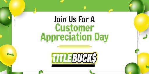 Customer Appreciation Day at TitleBucks Augusta, GA 3