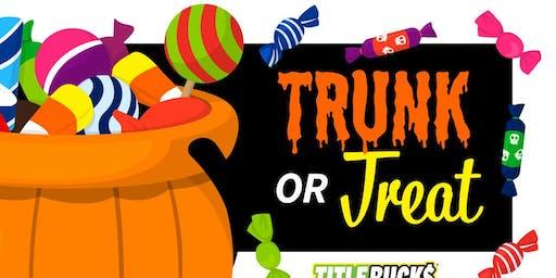 Trunk or Treat at TitleBucks Dalton, GA