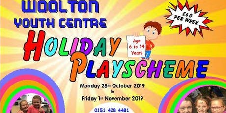 Holiday Playscheme (October 2019) tickets