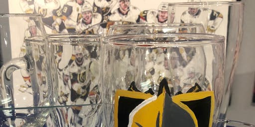 Hockey Knight at Sip View and Paint