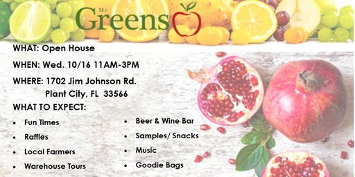 Mr Greens Open House - Fresh for Fall!