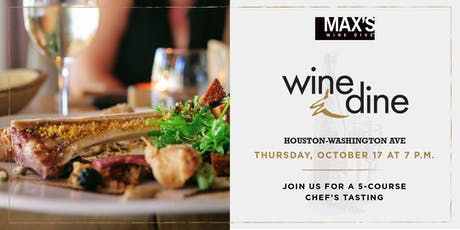 5-Course Fall Wine Dinner tickets