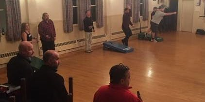 Thursday night Cornhole League at the Marchegiano Club (week 1)