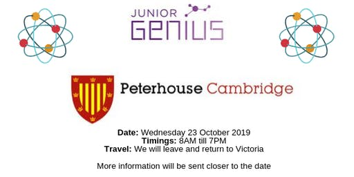 JG18 The University of Cambridge, Peterhouse College trip