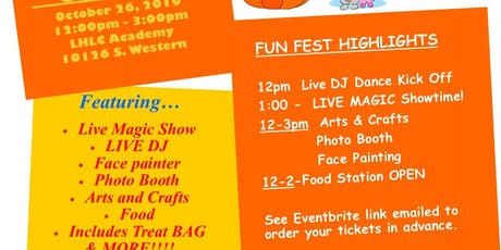 LHLC's FunFEST 2019 - Advanced Ticket Sale ($10/ticket - Billed to your Tuition account) tickets