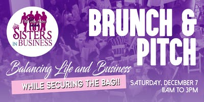 Sisters In Business Brunch and Pitch
