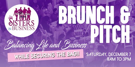 Sisters In Business Brunch and Pitch  tickets