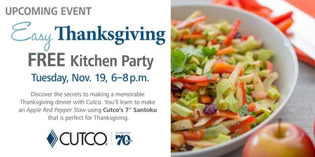 FREE Cooking Class: Easy Thanksgiving tickets