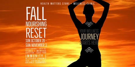 Fall Nourishing Reset tickets