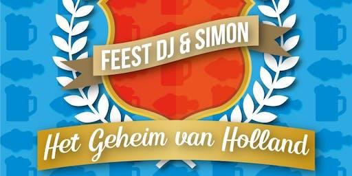 Feest DJ & Simon - Het Geheim van Holland