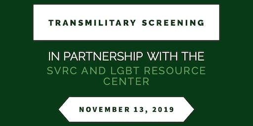 TransMilitary Screening