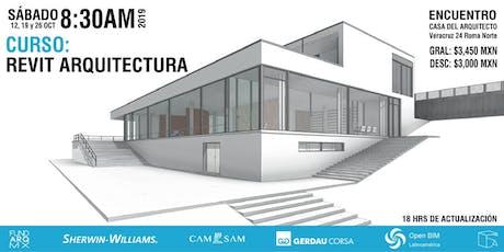 Curso: REVIT Arquitectura (completo) entradas