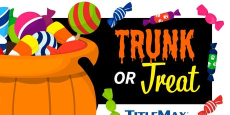 Trunk or Treat at TitleMax Dalton, GA 2 tickets