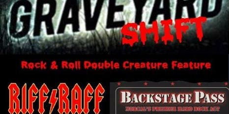 Corner Pocket Annual Halloween Bash With Riff Raff & Backstage Pass