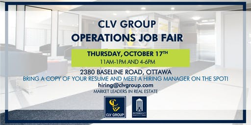CLV Group Operations Job Fair